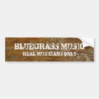 Autocollant De Voiture Adhésif pour pare-chocs de musique de Bluegrass