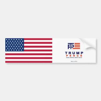 Autocollant De Voiture Adhésif pour pare-chocs de penny de Donald Trump -