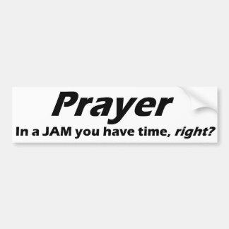 Autocollant De Voiture Adhésif pour pare-chocs de prière ! Dans UNE
