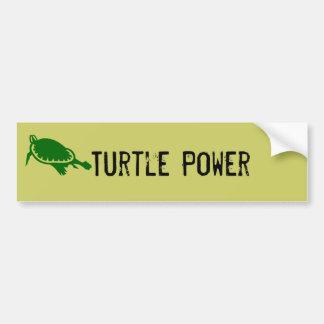 Autocollant De Voiture Adhésif pour pare-chocs de puissance de tortue