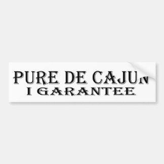 Autocollant De Voiture Adhésif pour pare-chocs de Pure De Cajun