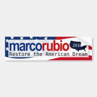 Autocollant De Voiture Adhésif pour pare-chocs de rêve américain de Marco