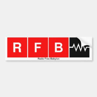 Autocollant De Voiture Adhésif pour pare-chocs de RFB