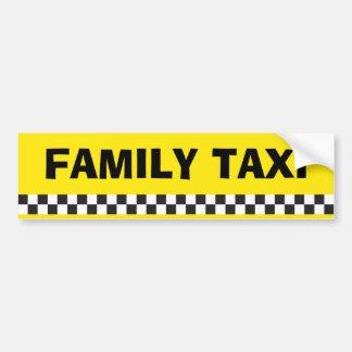 Autocollant De Voiture Adhésif pour pare-chocs de service de taxi de