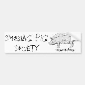 """Autocollant De Voiture Adhésif pour pare-chocs """"de société de tabagisme"""