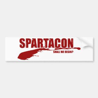 Autocollant De Voiture Adhésif pour pare-chocs de SpartaCon
