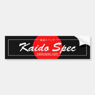 Autocollant De Voiture Adhésif pour pare-chocs de Spéc. de Kaido