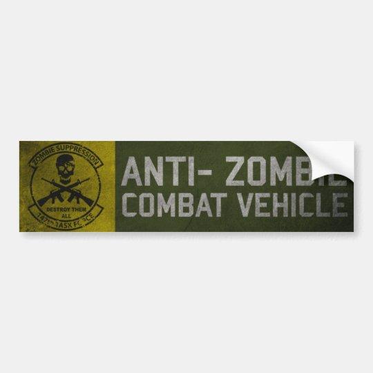 autocollant de voiture adh sif pour pare chocs de tf de zombi de fonction. Black Bedroom Furniture Sets. Home Design Ideas