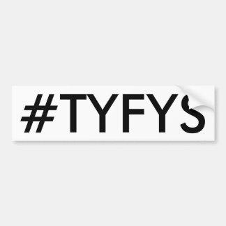 Autocollant De Voiture Adhésif pour pare-chocs de #TYFYS