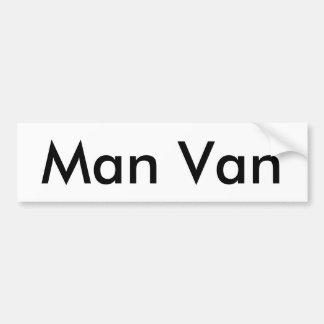 Autocollant De Voiture Adhésif pour pare-chocs de Van d'homme