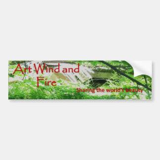 Autocollant De Voiture Adhésif pour pare-chocs de vent et de feu d'art