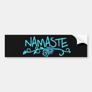 Autocollant De Voiture Adhésif pour pare-chocs de yoga de Namaste