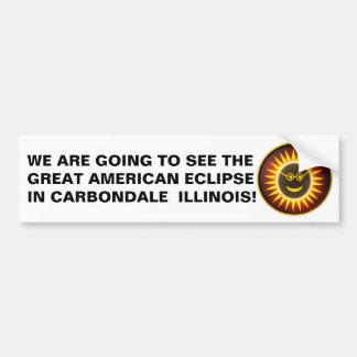 Autocollant De Voiture Adhésif pour pare-chocs d'éclipse de Carbondale