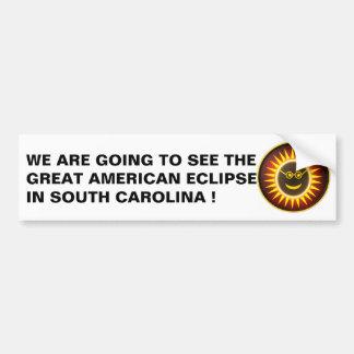 Autocollant De Voiture Adhésif pour pare-chocs d'éclipse de la Caroline