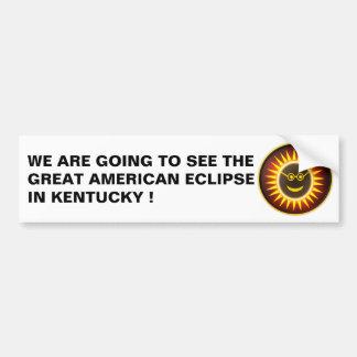 Autocollant De Voiture Adhésif pour pare-chocs d'éclipse du Kentucky