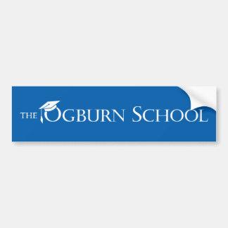 Autocollant De Voiture Adhésif pour pare-chocs d'école d'Ogburn