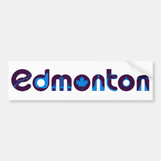 Autocollant De Voiture Adhésif pour pare-chocs d'Edmonton