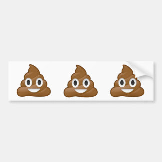 Autocollant De Voiture Adhésif pour pare-chocs d'emoji de dunette