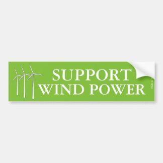Autocollant De Voiture Adhésif pour pare-chocs d'énergie éolienne de
