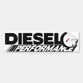 Autocollant De Voiture Adhésif pour pare-chocs diesel de Preformance