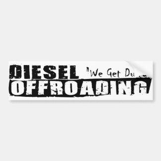 Autocollant De Voiture Adhésif pour pare-chocs diesel d'Offroading