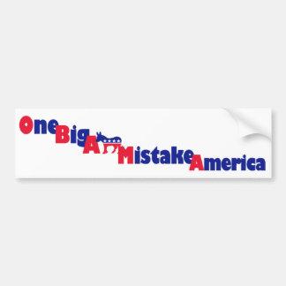Autocollant De Voiture Adhésif pour pare-chocs d'Obama