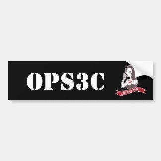 Autocollant De Voiture Adhésif pour pare-chocs d'Opsec