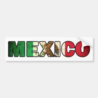 Autocollant De Voiture Adhésif pour pare-chocs du Mexique
