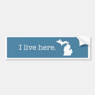 Autocollant De Voiture Adhésif pour pare-chocs du Michigan