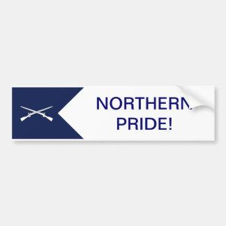 Autocollant De Voiture Adhésif pour pare-chocs du nord de fierté