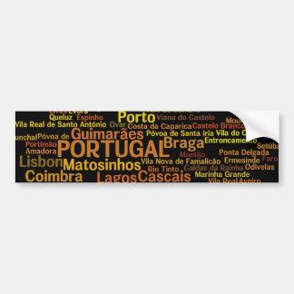 Autocollant De Voiture Adhésif pour pare-chocs du PORTUGAL