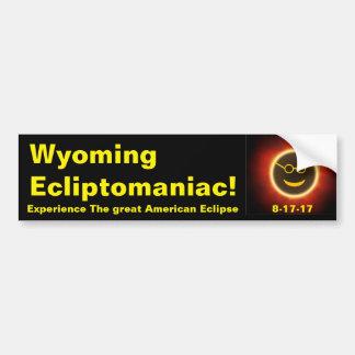 Autocollant De Voiture Adhésif pour pare-chocs du Wyoming Ecliptomaniac