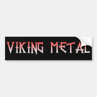 Autocollant De Voiture Adhésif pour pare-chocs en métal de Viking