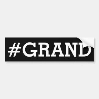 Autocollant De Voiture Adhésif pour pare-chocs grand : #GRAND