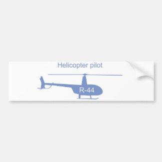 Autocollant De Voiture Adhésif pour pare-chocs léger d'hélicoptère