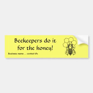 Autocollant De Voiture Adhésif pour pare-chocs - les apiculteurs le font