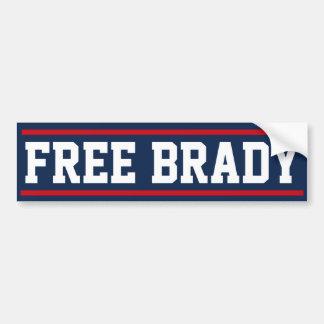 Autocollant De Voiture Adhésif pour pare-chocs libre de Brady