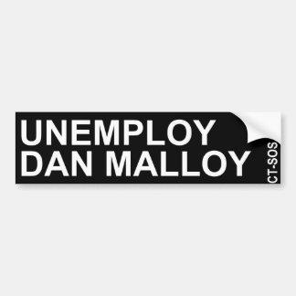 Autocollant De Voiture adhésif pour pare-chocs malloy unemploy de Dan