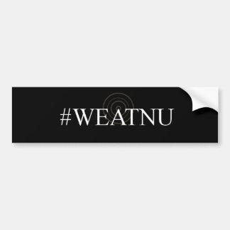 Autocollant De Voiture Adhésif pour pare-chocs noir de #WEATNU 'avec