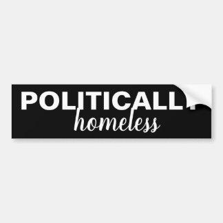 Autocollant De Voiture Adhésif pour pare-chocs politiquement sans abri