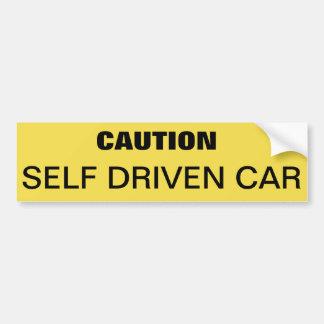 Autocollant De Voiture Adhésif pour pare-chocs pour avertir la voiture