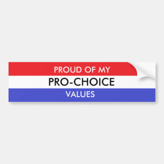 Autocollant De Voiture Adhésif pour pare-chocs pour l'avortement et