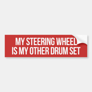 Autocollant De Voiture Adhésif pour pare-chocs réglé de tambour de volant