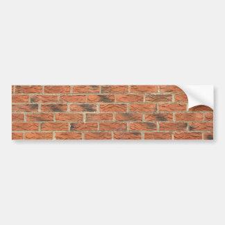 Autocollant De Voiture Adhésif pour pare-chocs rouge de Brickhouse
