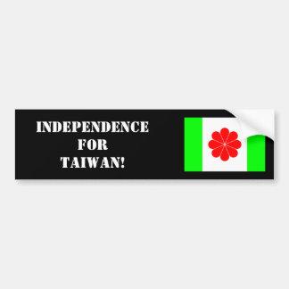 Autocollant De Voiture Adhésif pour pare-chocs taiwanais 2 de