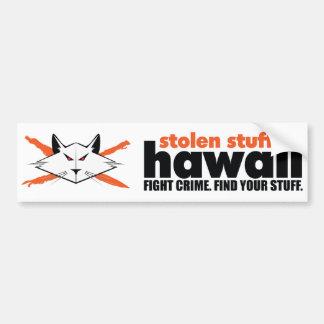 Autocollant De Voiture Adhésif pour pare-chocs volé d'Hawaï de substance