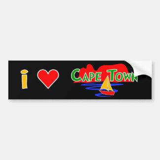 Autocollant De Voiture Adhésifs pour pare-chocs de Cape Town d'amour de