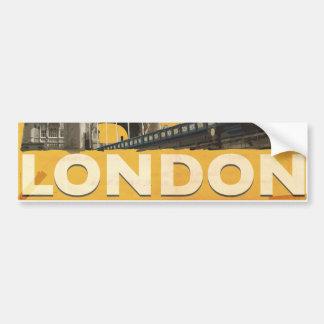 Autocollant De Voiture Affiche vintage de Londres