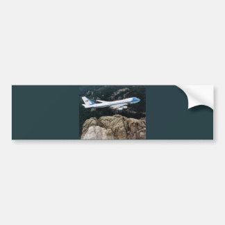 Autocollant De Voiture Air Force One au-dessus du mont Rushmore