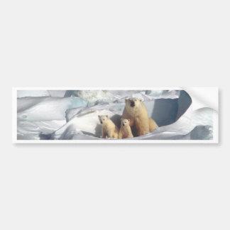 Autocollant De Voiture Ajoutez le SLOGAN pour sauver la glace arctique de